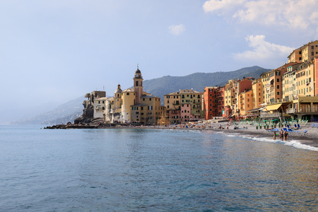 village of Camogli, in Liguria