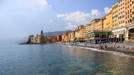 village of Camogli, in Liguria