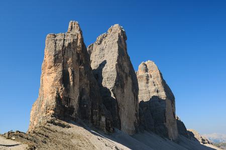 three peaks of Lavaredo - Dolomites Banco de Imagens - 101647460