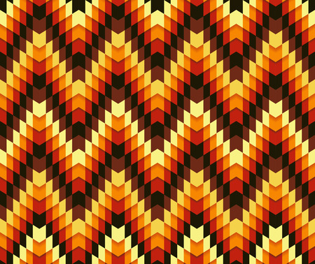 serrated: Beautiful trendy colorful seamless serrated pattern. Abstract geometric shapes. Abstract background. Fully editable vector mosaic background. Retro pattern. Ideal to use as backdrop for sites or gadgets. Illustration
