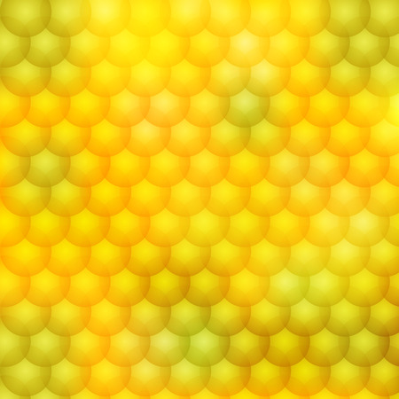Python styled background on a yellow and green colors. Fully editable vector illustration. Perfect for backdrops and wallpapers and flyers.