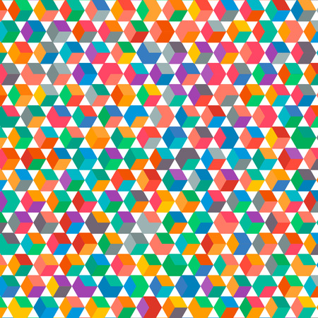 rubin: Multicolored square bacground with the blinks and lights. Fully editable vector illustration. Perfect for business corporate presentations, cards, flayers, wallpapers, backdrops.