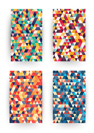 Isometric pattern covers. Modern design. Cool colorful backgrounds. Applicable for Banners, Placards, Posters, Flyers. Eps10 vector template.