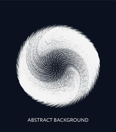 Abstract background with the glowing fiber effect. Vector design illustration. Futuristic card. Ciber technology design. Foto de archivo - 99330170