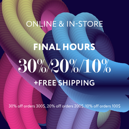 Sale web banners template for special offers advertisement. Discount offer. Super Sale concept. Abstract backround, wave backdrop, gradient colors. Bright colors.