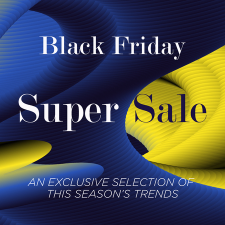 Sale web banners template for special offers advertisement. Discount offer. Black Friday Super Sale concept. Liquid colors shapes with the hot text. Bright colors. Abstract background. Vectores