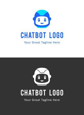 The chat bot vector design illustration. Modern flat style. Chat bot icon . design. UI UX element for web design. Illusztráció