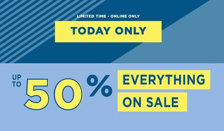 Sale web banners template for special offers advertisement. Discount offer. Super Sale concept. Liquid colors shapes with the hot text. Great sales concept. Bright colors. Abstract background.  Ilustracja