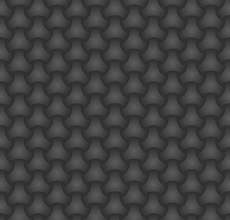 Seamless pattern, abstract background, chainmail ornament/  Ilustracja
