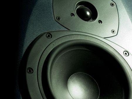 light transmission: speaker