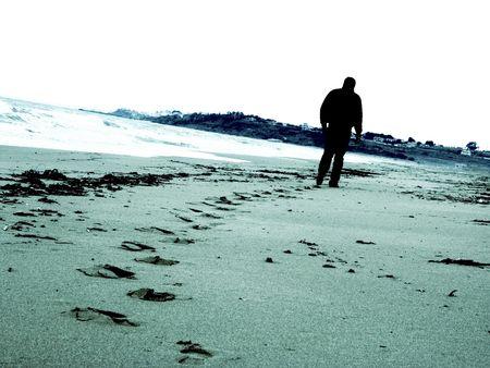 Weg alleine