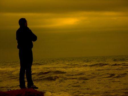 lonliness: sunset
