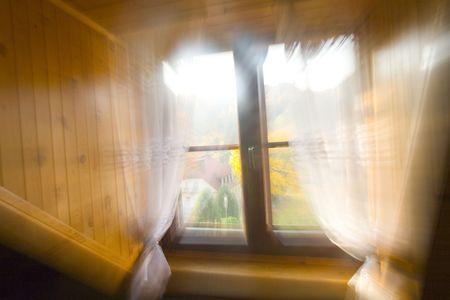 kazimierz: window Stock Photo