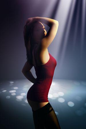 vj: discoteca ragazza