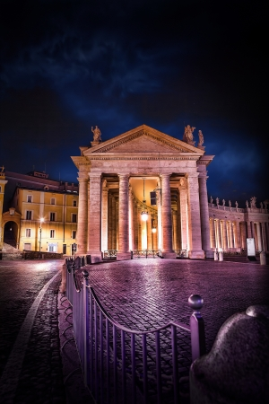 saint peter square Stock Photo - 17391465