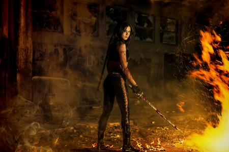 revenge: chica guerrera
