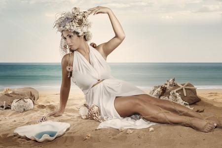 seaa: sea girl Stock Photo