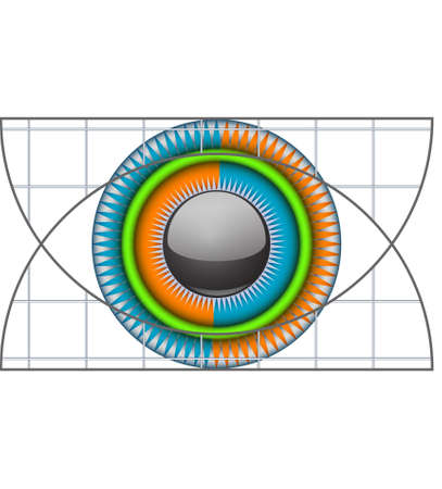 logo eye Vector