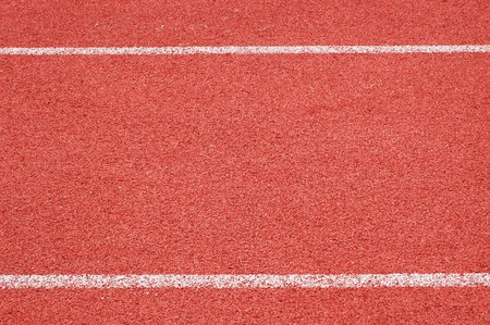 Red Running Track for background photo