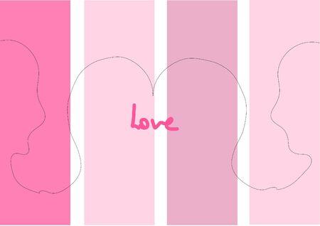 Love is beautiful Love is understanding Media to Fiber Intercourse Çizim