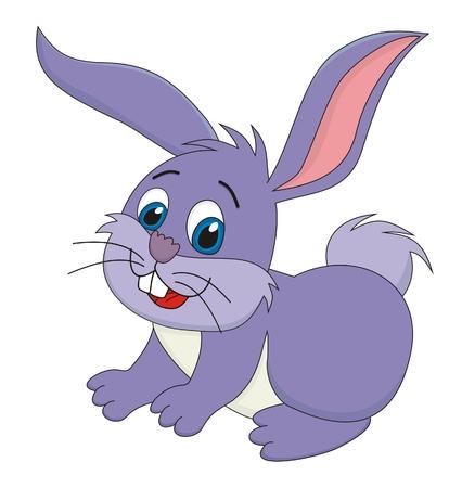 Rabbit bunny cartoon  illustration