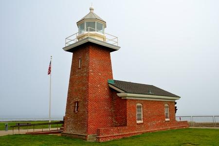 central california: Lighthouse in Santa Cruz, California