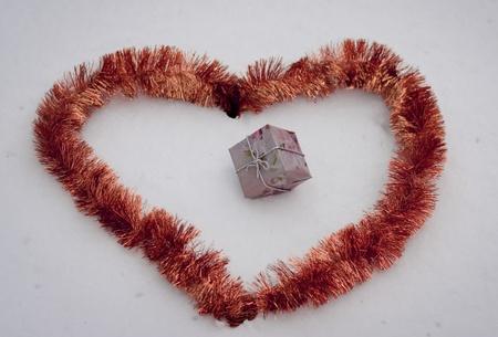 clr: shape of hearts Stock Photo
