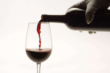 sommeliers: glass of wine