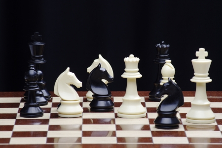 black horse: juego de ajedrez