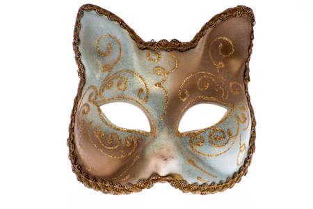 Venetian carnival mask in the shape of a cat