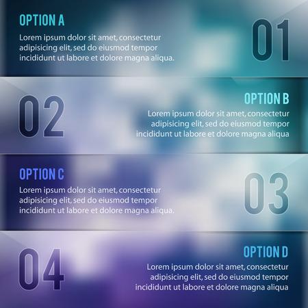 Infographics options desing Illustration