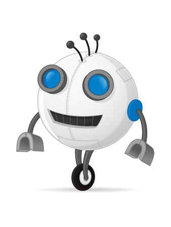 Robot vector illustration Illustration