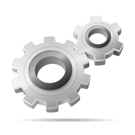3d gears Illustration