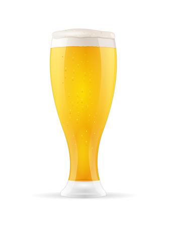 맥주 유리 일러스트
