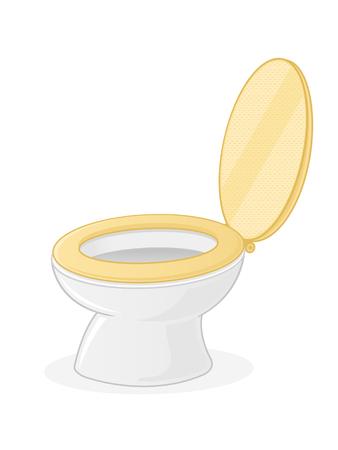 Toiletbril Stock Illustratie