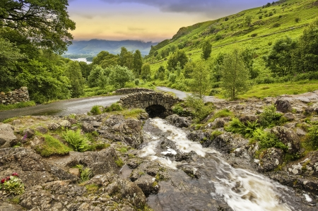 Ashness Bridge Stock Photo - 19752451