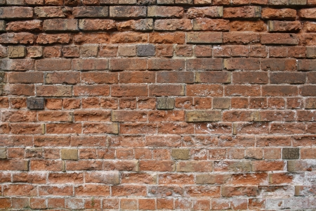 masonary: close up image of red brick wall Stock Photo