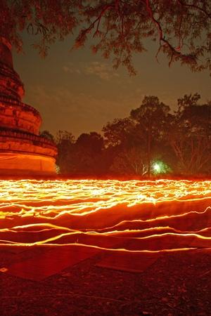 candle of Buddhism photo