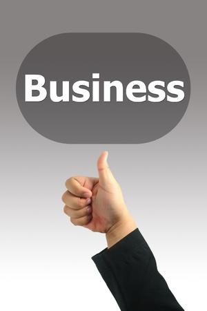 Good Business Hand  photo