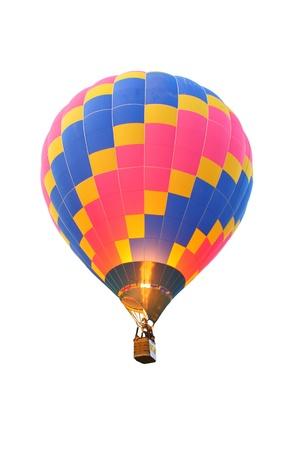 light aircraft: hot air balloon