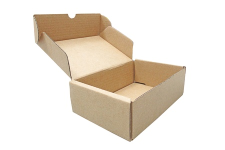 brown box shipping photo
