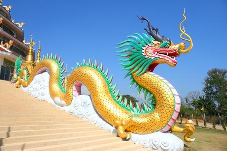 dragon statue Editorial