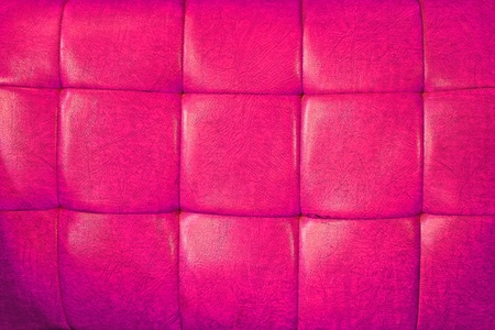 Pink leather upholstery photo