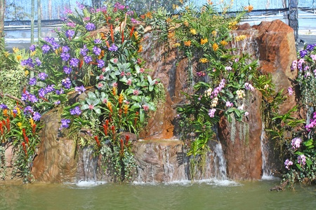 waterfall in the garden Stock Photo - 11651983