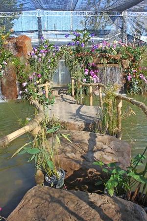 waterfall in the garden Stock Photo - 11651979