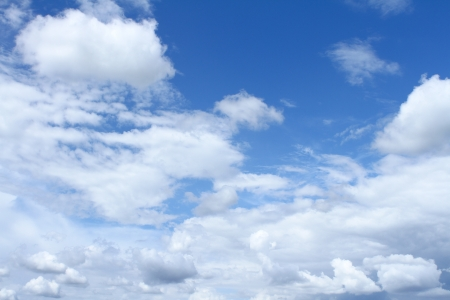 blue sky and clear cloud Stock Photo - 13865478