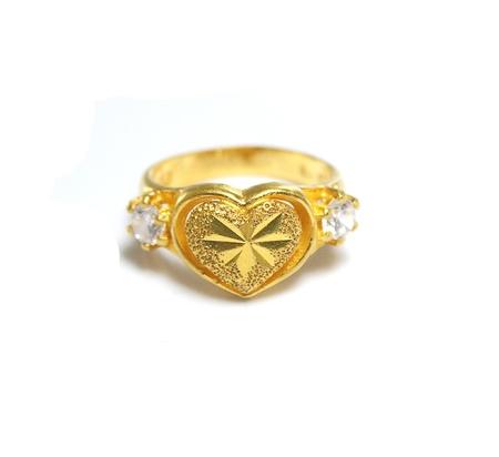 Heart-shaped ring Stock Photo - 14503923