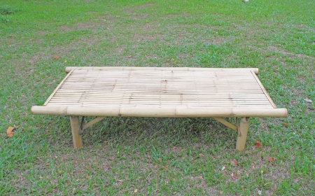 Bamboo table photo