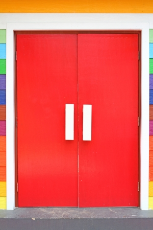 colorful door photo
