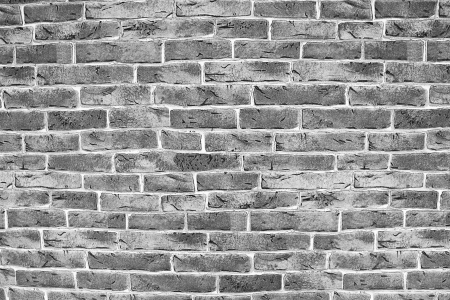 brick texture on white painted Stock Photo